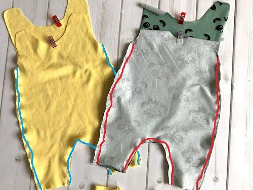 Barboteuse Mini-We – instructions de couture y compris le patron de couture »BASTELRADO   – Selber machen