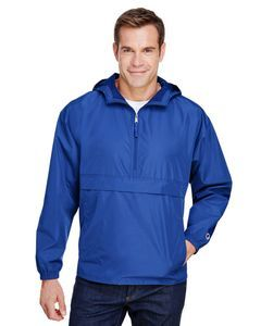 baf77222813 CO200 Adult Packable Anorak 1 4 Zip Jacket