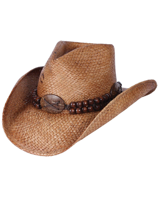 Charlie 1 Horse Riff Raff Straw Hat Men'