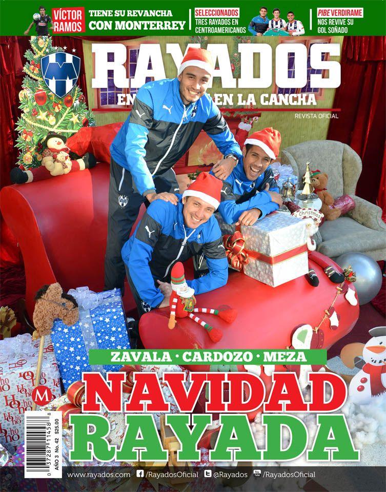 ¡Ya está a la venta la Revista #Rayados del mes de diciembre con la edición navideña! Encuéntrala en #TiendaRayados
