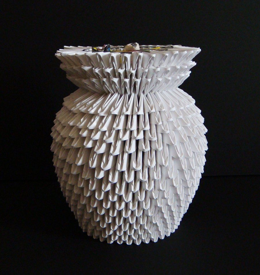 3d origami vase by sabrinayeniantart on deviantart what 3d origami vase by sabrinayeniantart on deviantart what is being floridaeventfo Image collections