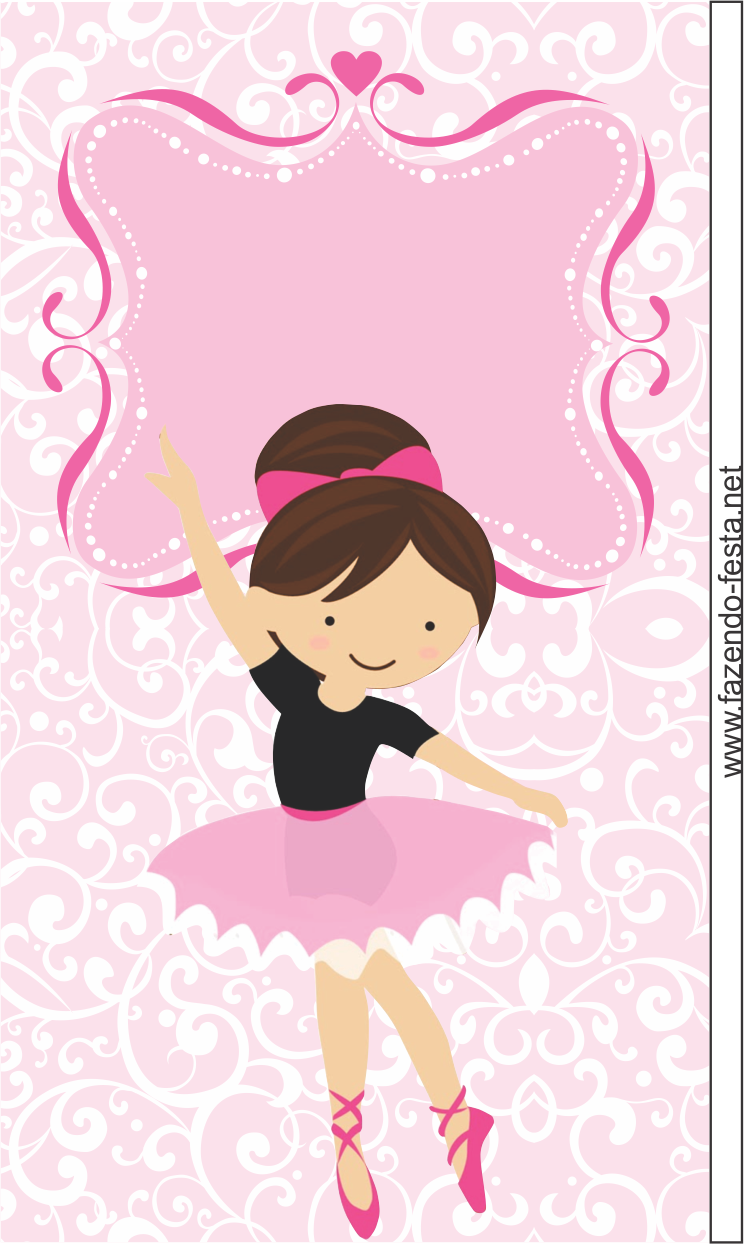 Uncategorized Ballerina Printables sweet ballerina free printable card or candy bar label label