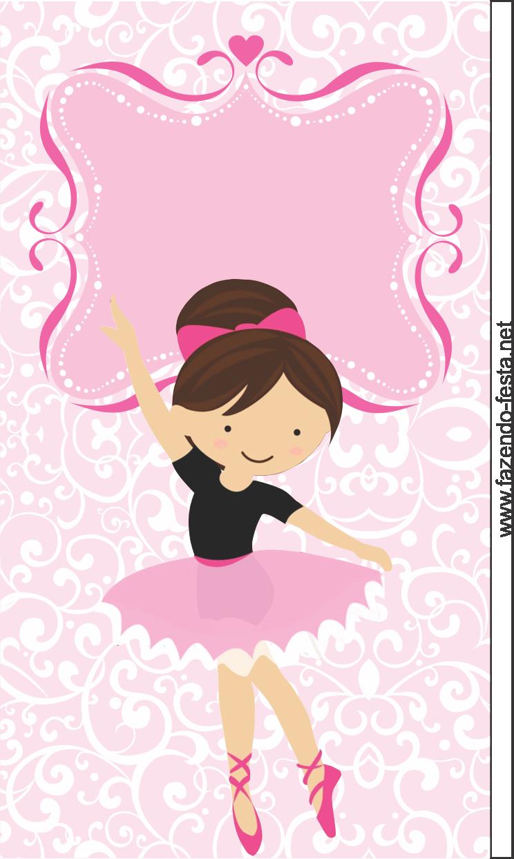 Mini Kit De Ballerina Para Imprimir Gratis Fulanitos