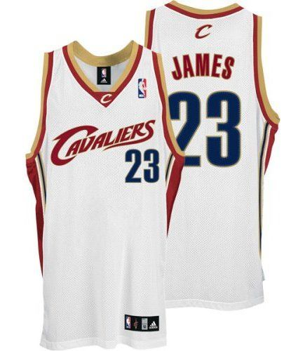 Cleveland Cavaliers white home Basketball Jersey From The