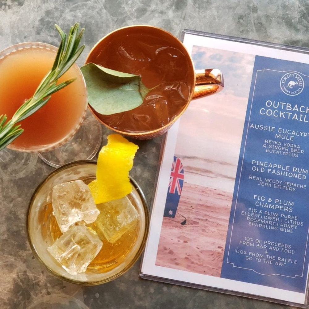 Elm City Social Elm City Social Instagram Photos And Videos Ginger Beer Pineapple Rum Rum Old Fashioned