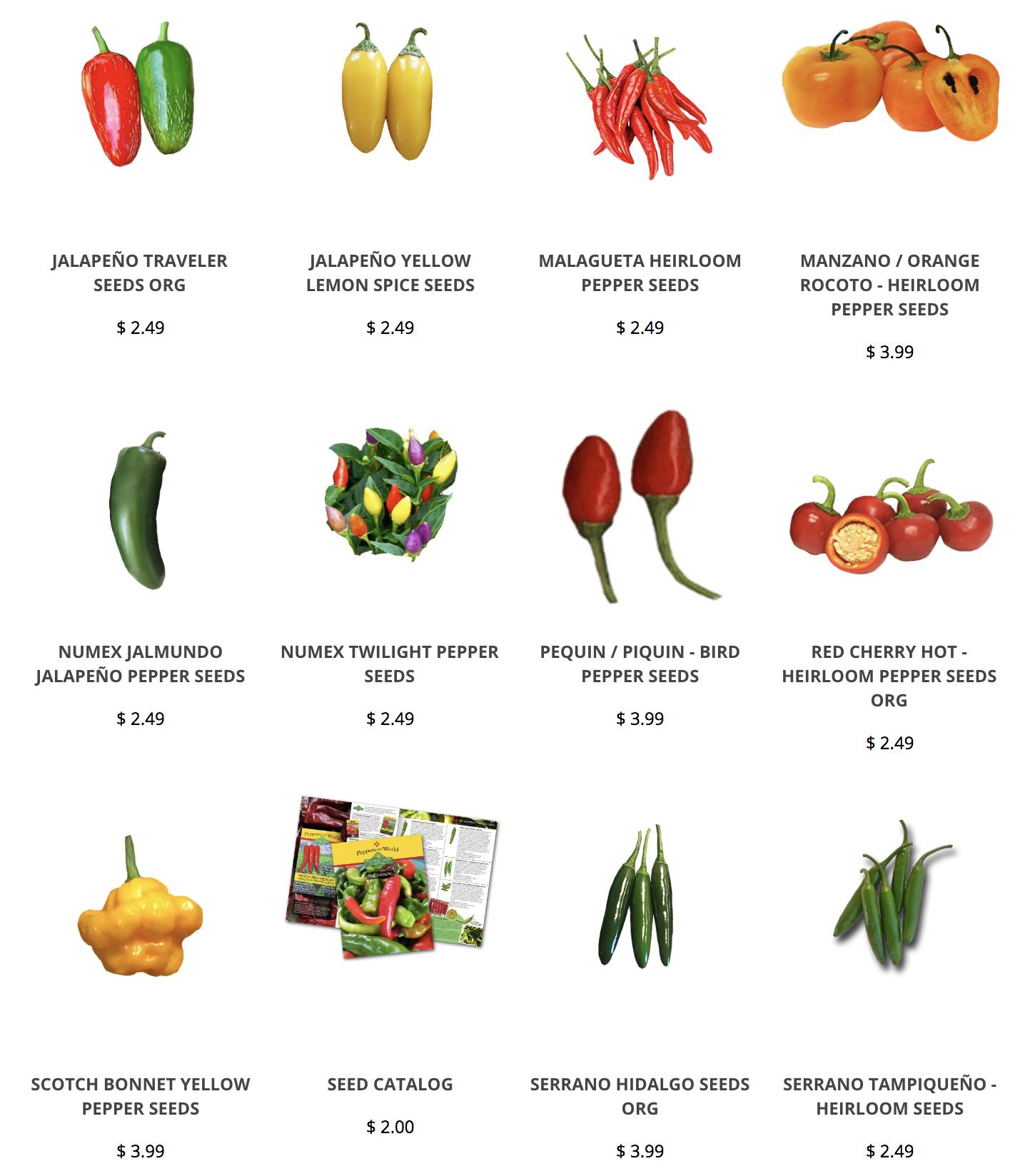 NuMex Jalmundo Hot Pepper Seeds