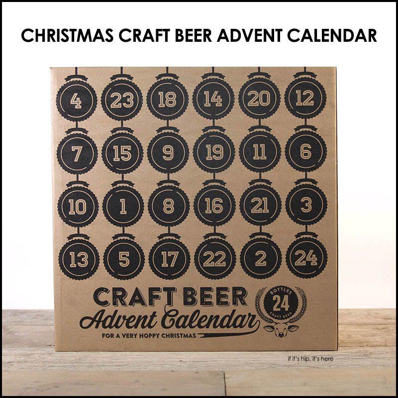 christmas craft beer advent calendar   - CHRISTMAS -   Pinterest ...