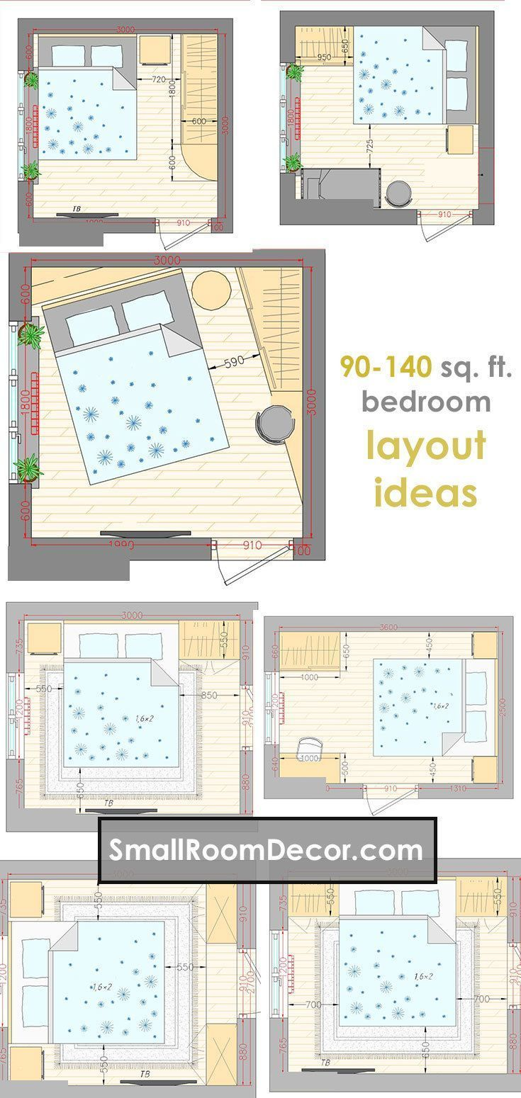 44++ Small bedroom furniture layout ideas ppdb 2021