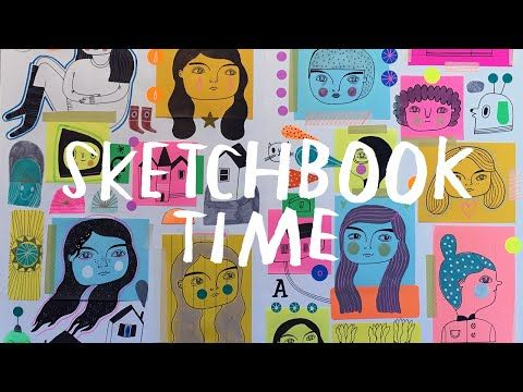 Sketchbook Time Lapse Shows All