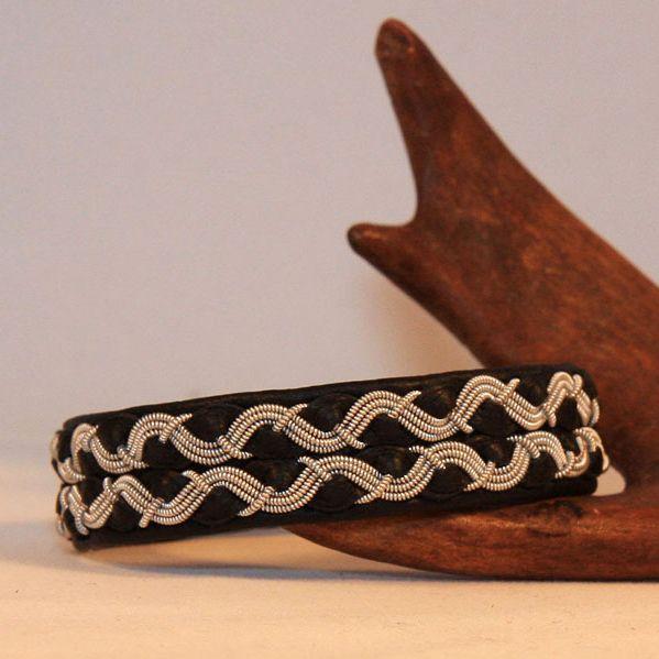 Mönster Armband, Läderarmband