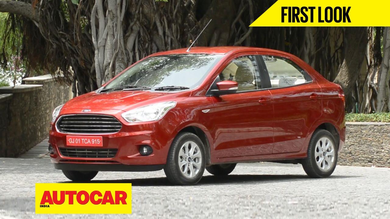 Ford Figo Aspire First Look Video Ford Aspire Sedan