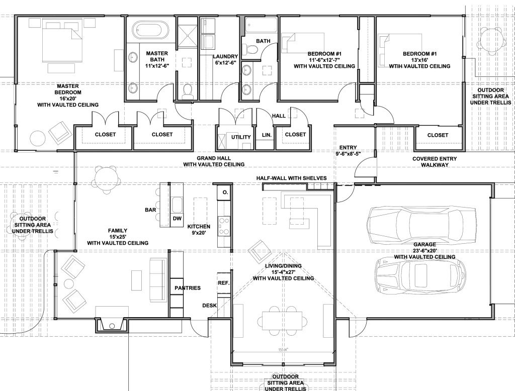 Image Result For Mid Century Modern House Plans