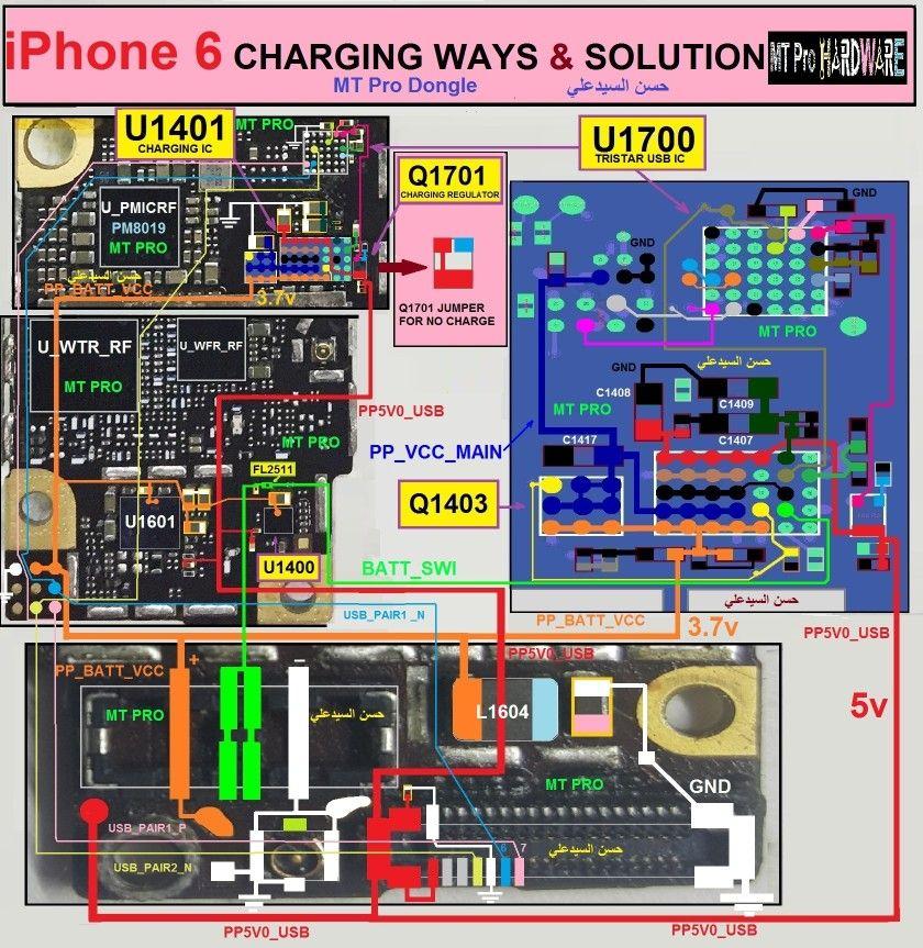 Pin de Sedail Arslan em İphone 6 Reparo de celular