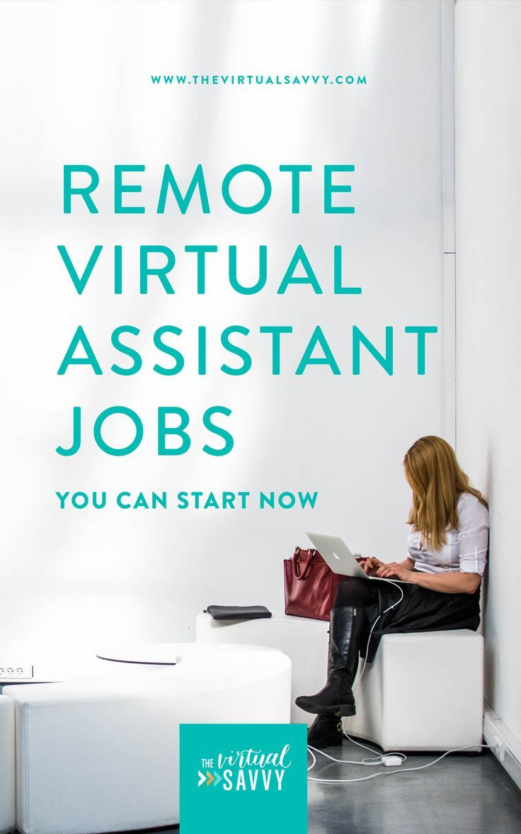 Remote Virtual Assistant Jobs (You Can Start NOW Virtual