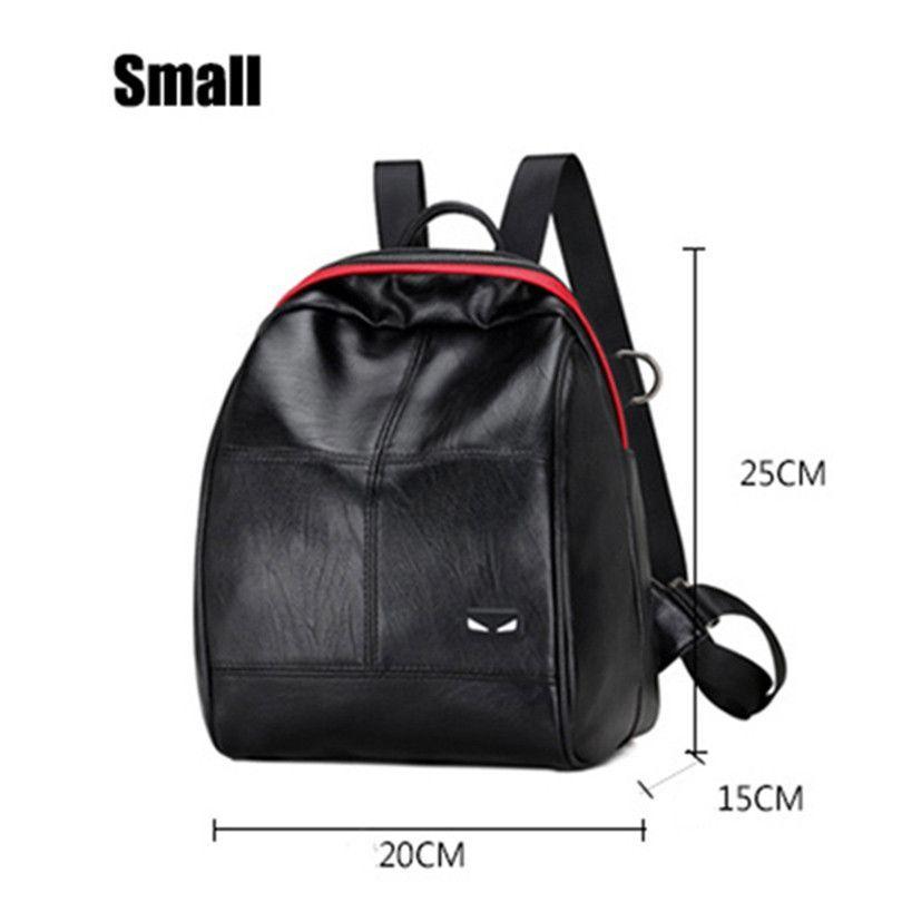 0aa8f2df5ebe 2017 Fashion Women Backpack High Quality PU Leather Backpacks for Teenage  Girls Female School Shoulder Bag Bagpack mochila