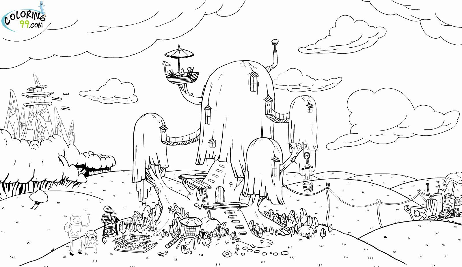 21 Adventure Time Coloring Book In 2020 Adventure Time Coloring