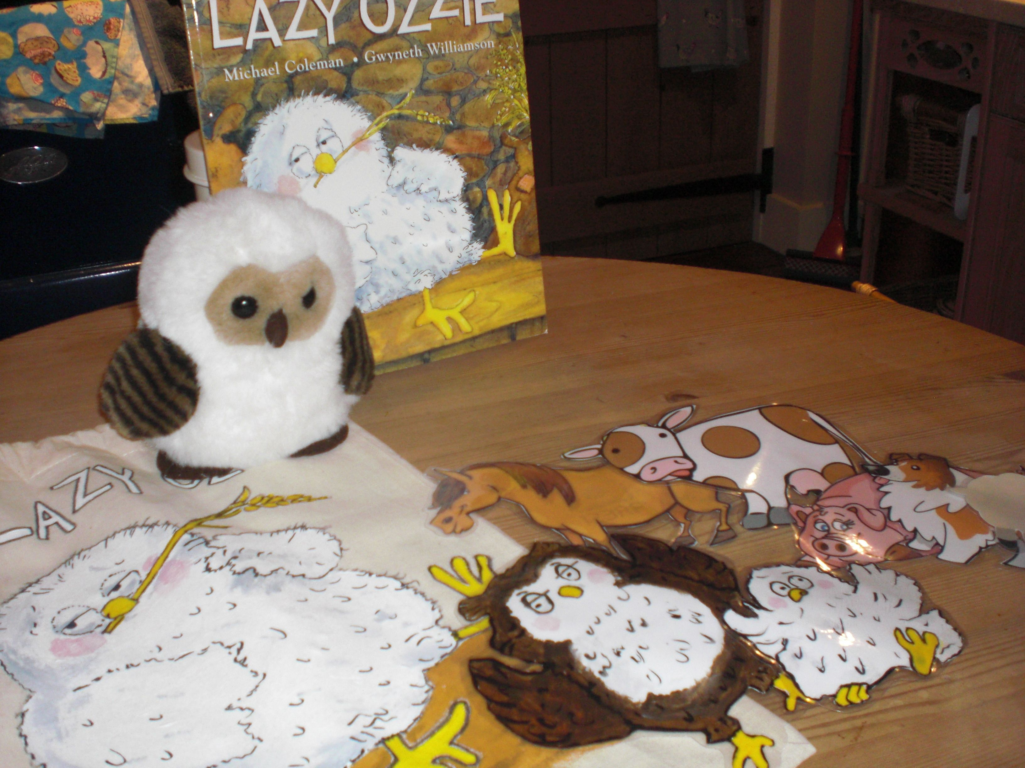Lazy Ozzie The Story Of The Lazy Owl Who Is Too Lazy To