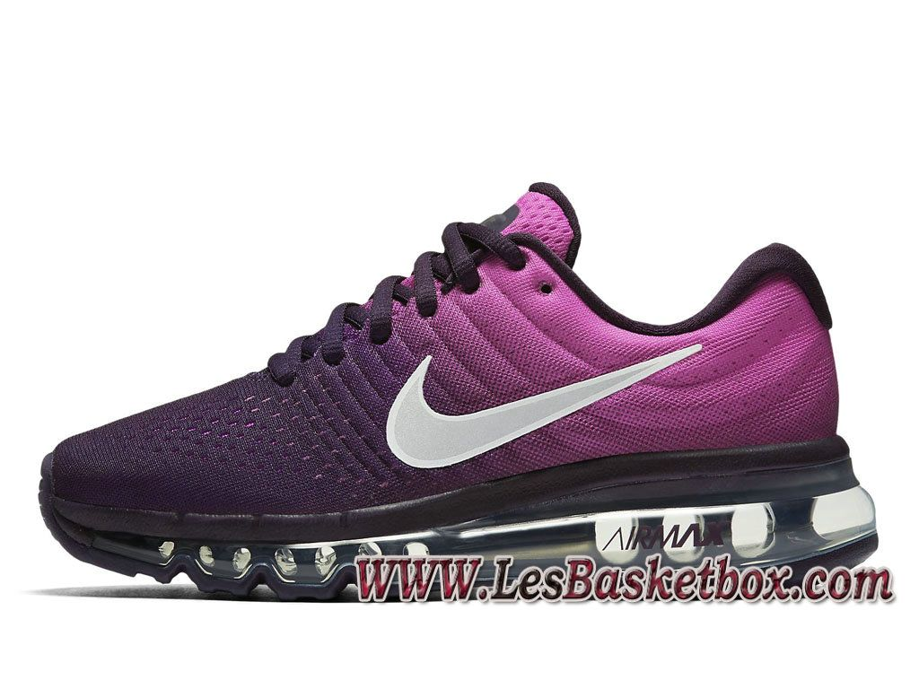 low priced 9f893 1733c Nike Wmns Air Max 2017 Noir ROse 8851623 500 Chaussures Nike pas cher Pour  Femme