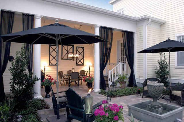 Curtains Ideas cheap patio curtains : 17 Best images about Outdoor Living on Pinterest | Outdoor living ...