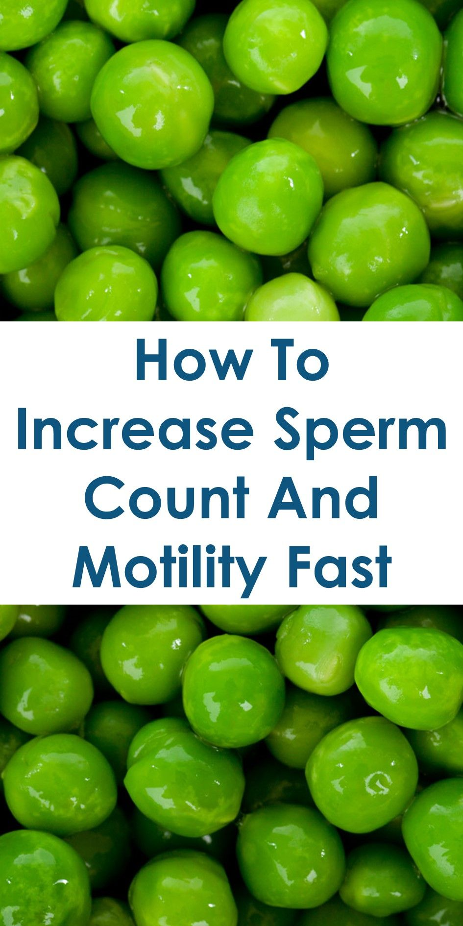 increase sex drive and sperm volume