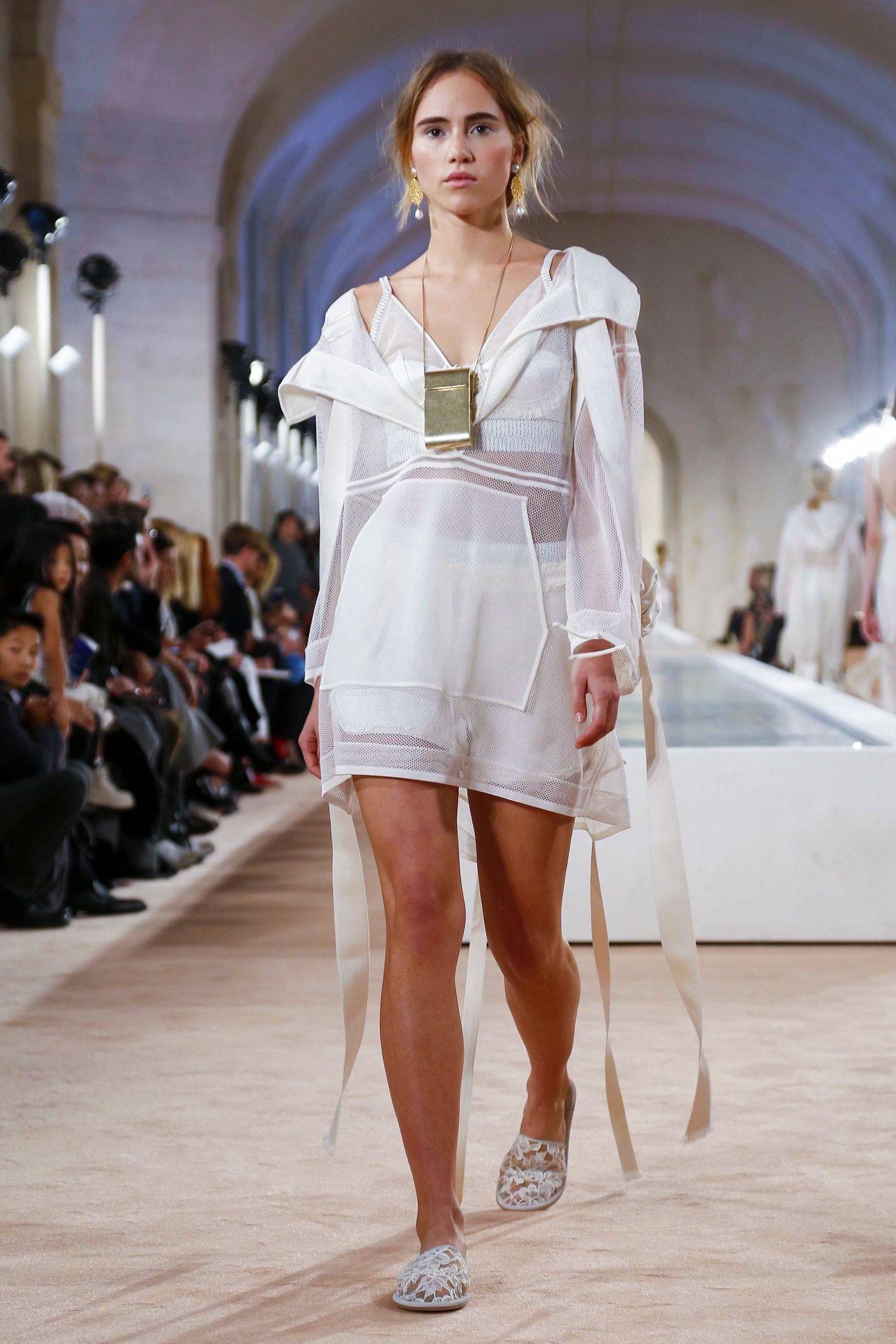 aa85cefbe748 A look from the Balenciaga spring summer 2016 show during Paris Fashion  Week. (Photo  Regis Colin Berthelier Nowfashion)