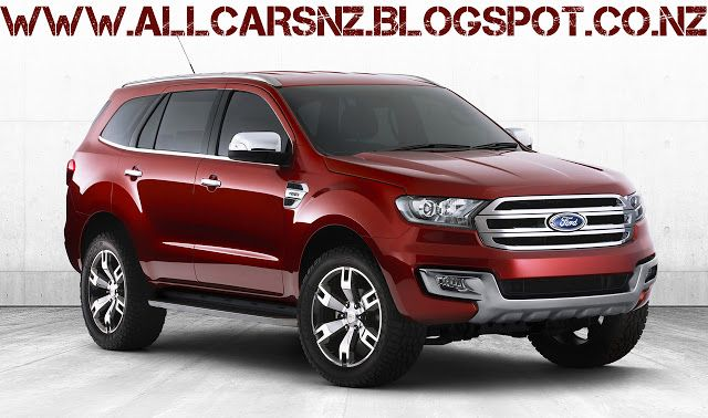 2013 Ford Everest Concept Ford Endeavour Car Ford Ford Bronco Concept
