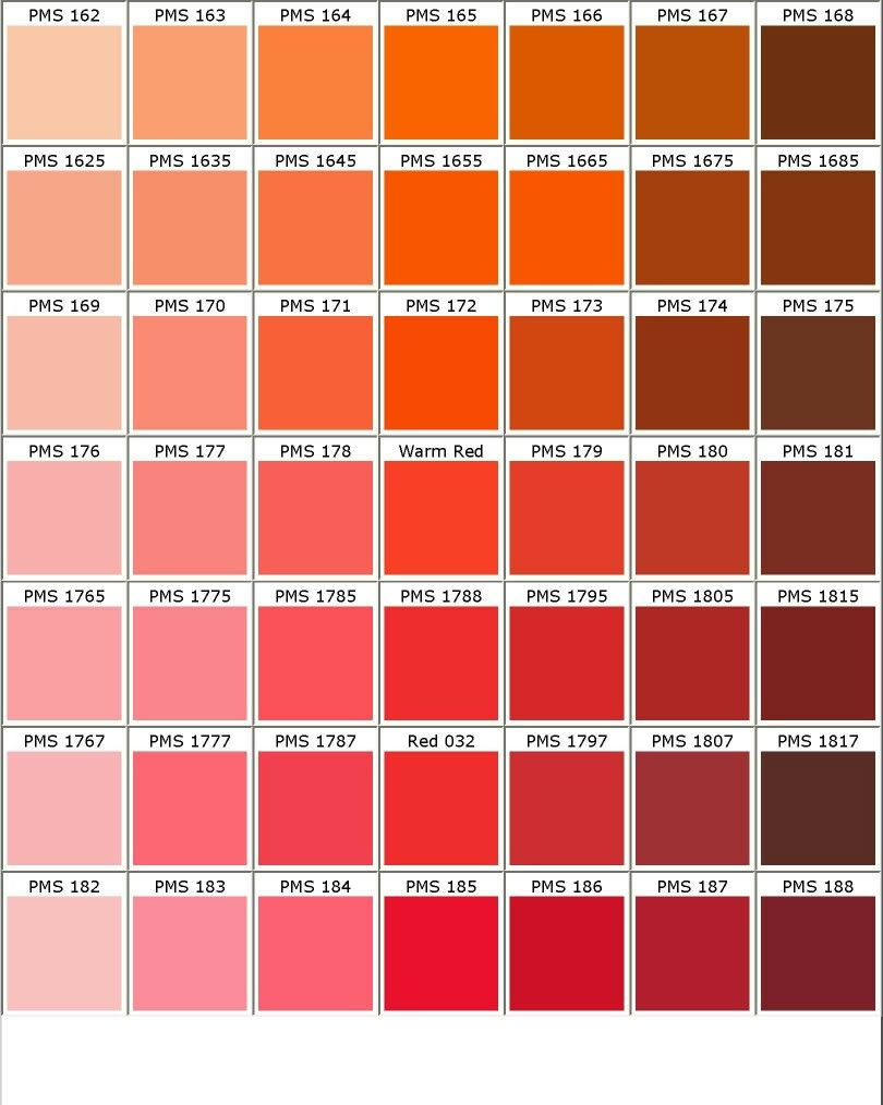nuancier pantone orange rose rouge d co nuanciers pinterest nuancier pantone roses. Black Bedroom Furniture Sets. Home Design Ideas