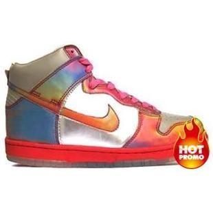 Mens Nike Dunk High Back to the Future II Custom Horrible Pack