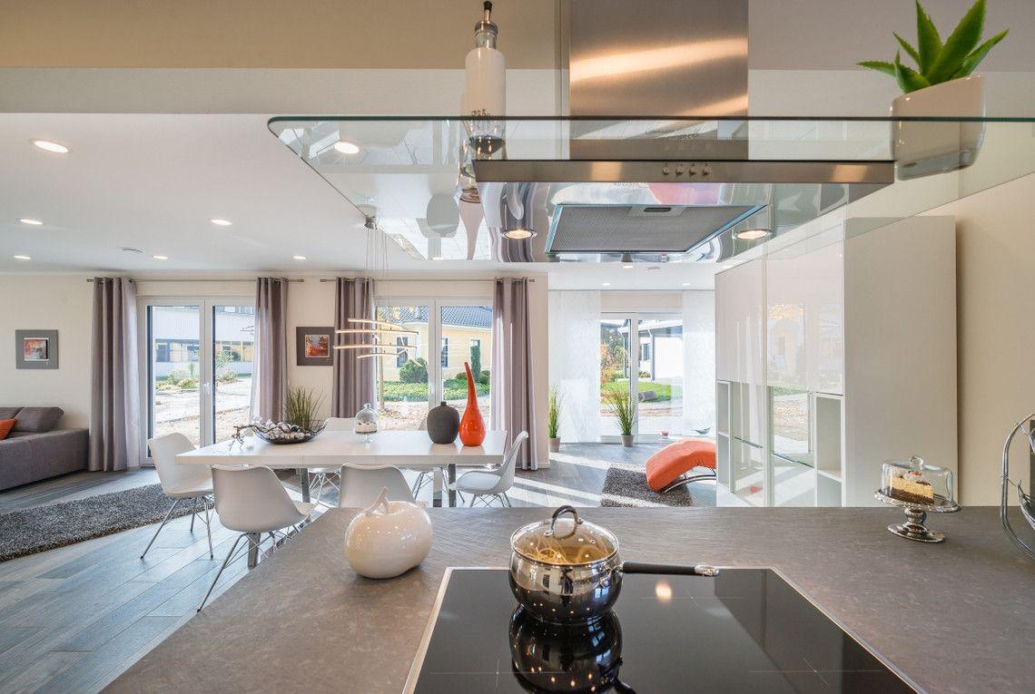 Wohnzimmer Kühlschrank ~ Offene wohnküche smeg kühlschrank weinkühlschrank und moderne küche