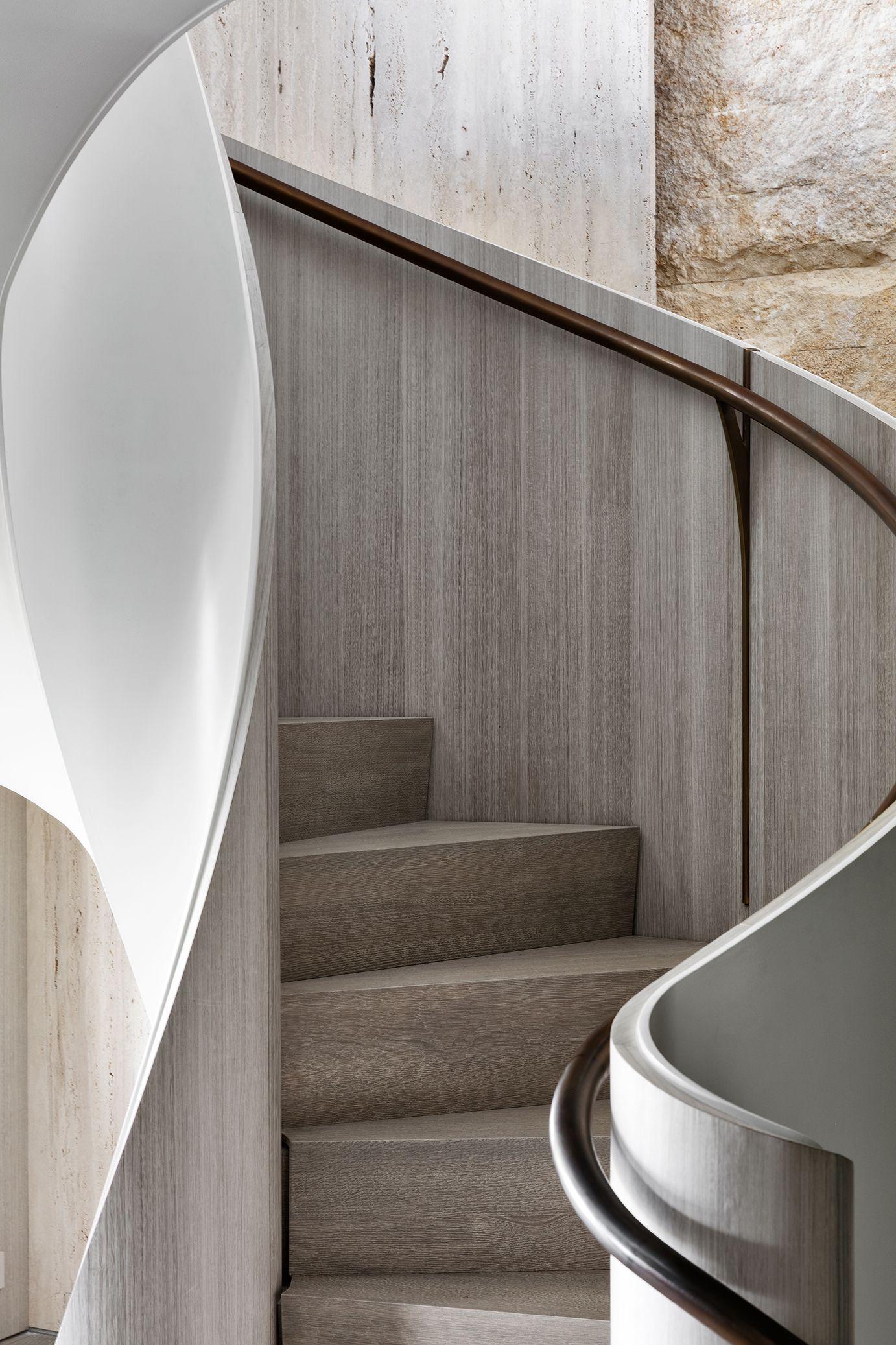 Best Upper East Side Duplex — Jgsk Design Circular Stairs 640 x 480