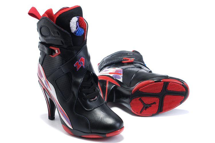 Air Jordan 8 High Heels Black Purple, cheap Jordan 8 High Heels, If you  want to look Air Jordan 8 High Heels Black Purple, you can view the Jordan  8 High ...