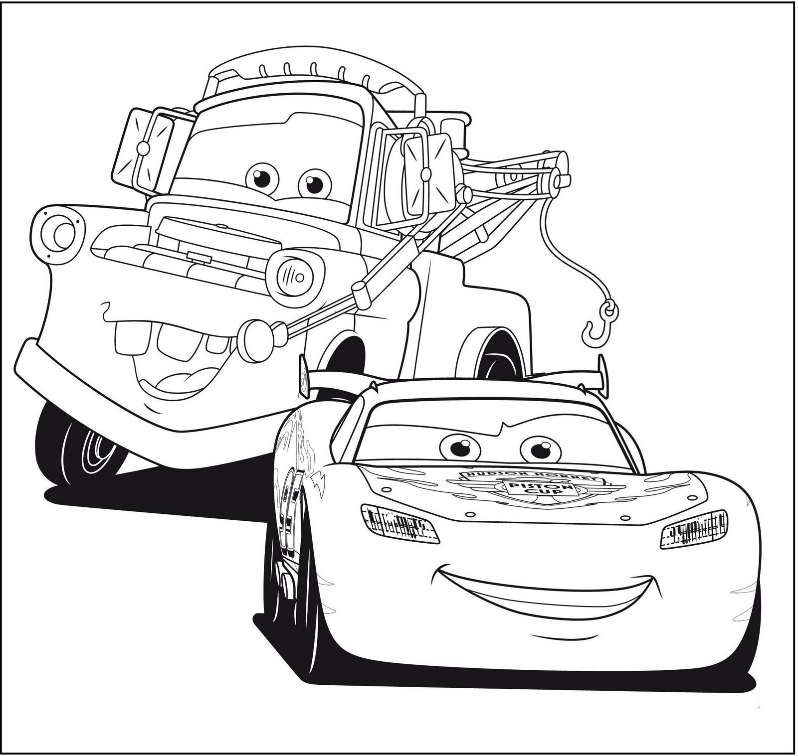 Ausmalbilder Cars Finn Mcmissile : Disney Cars Coloring Pages Free Large Images Haft Kolorowanki