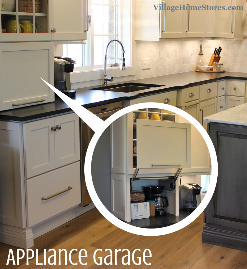 Including An Appliance Garage In Your Kitchen Design Can