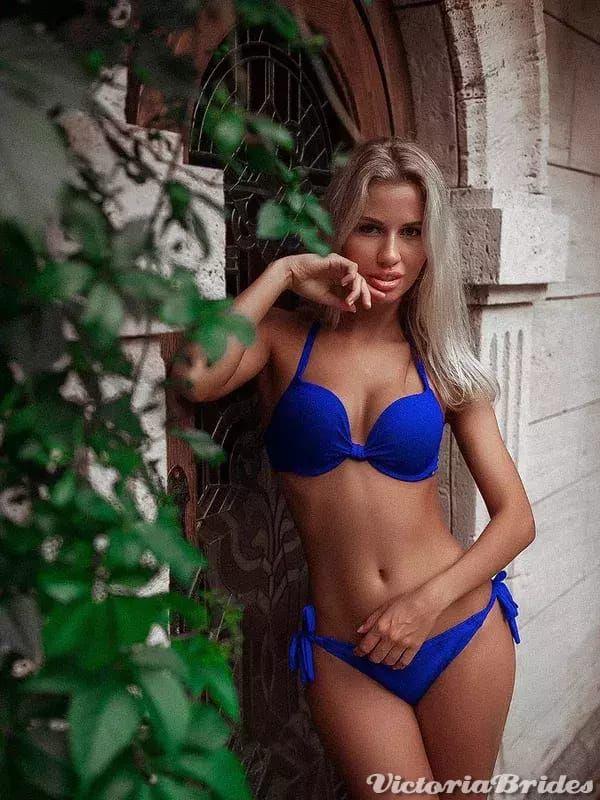 Women bikini brides blonde russian