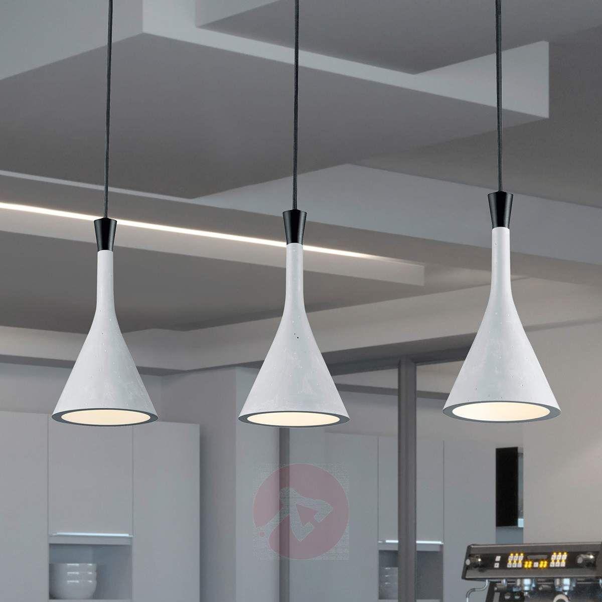 3-flammige Hängeleuchte Roddik-9004759-30 | Pendelleuchte LED Küche ...