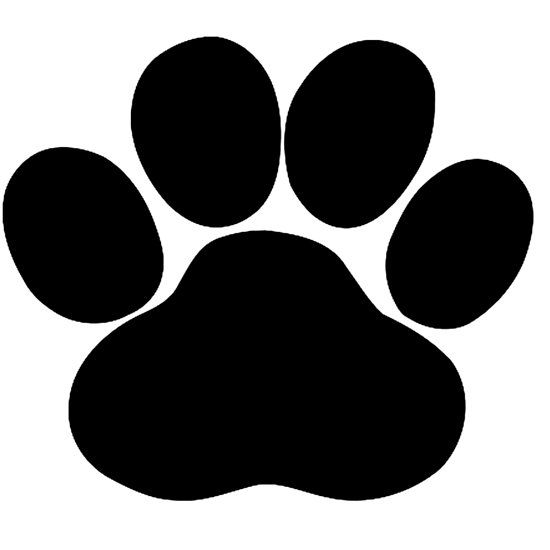Download Dog Paw by MordaxFurritus | Cricut, Svg, Dog paw print