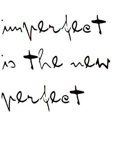 be imperfect