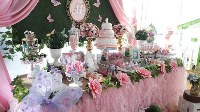 Beautiful Butterfly Birthday Party Butterfly Birthday Party Butterfly Birthday Fairy Birthday