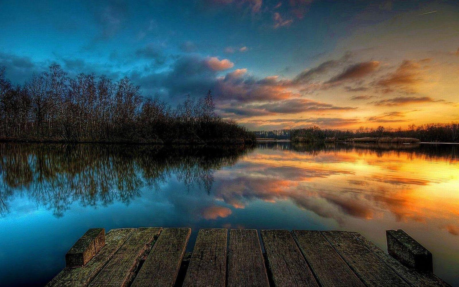 Sunset On The River Hd Desktop Wallpaper Cool Backgrounds Cool Backgrounds Hd Sunset Wallpaper
