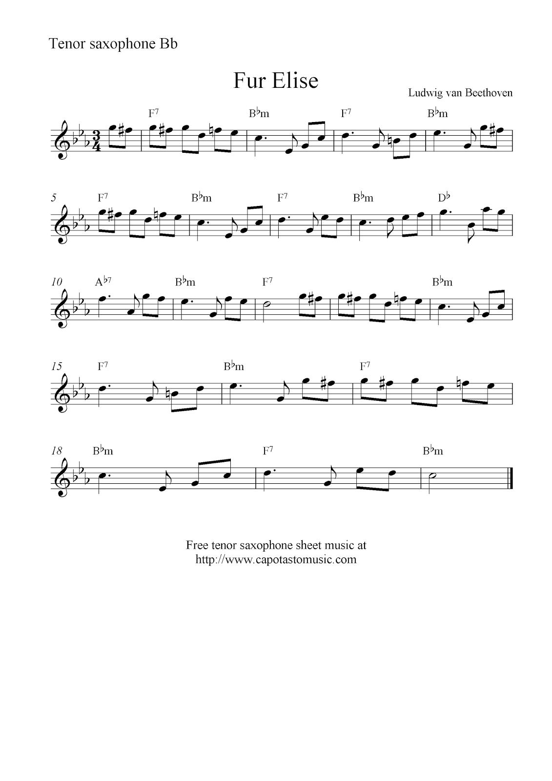 tenor saxophone sheet music - Bing Images | saxophone | Jazz sheet