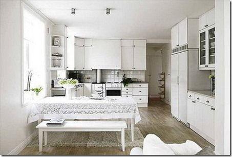 Resultado de imagen de cocinas integrales blancas RECAMARAS - Cocinas Integrales Blancas