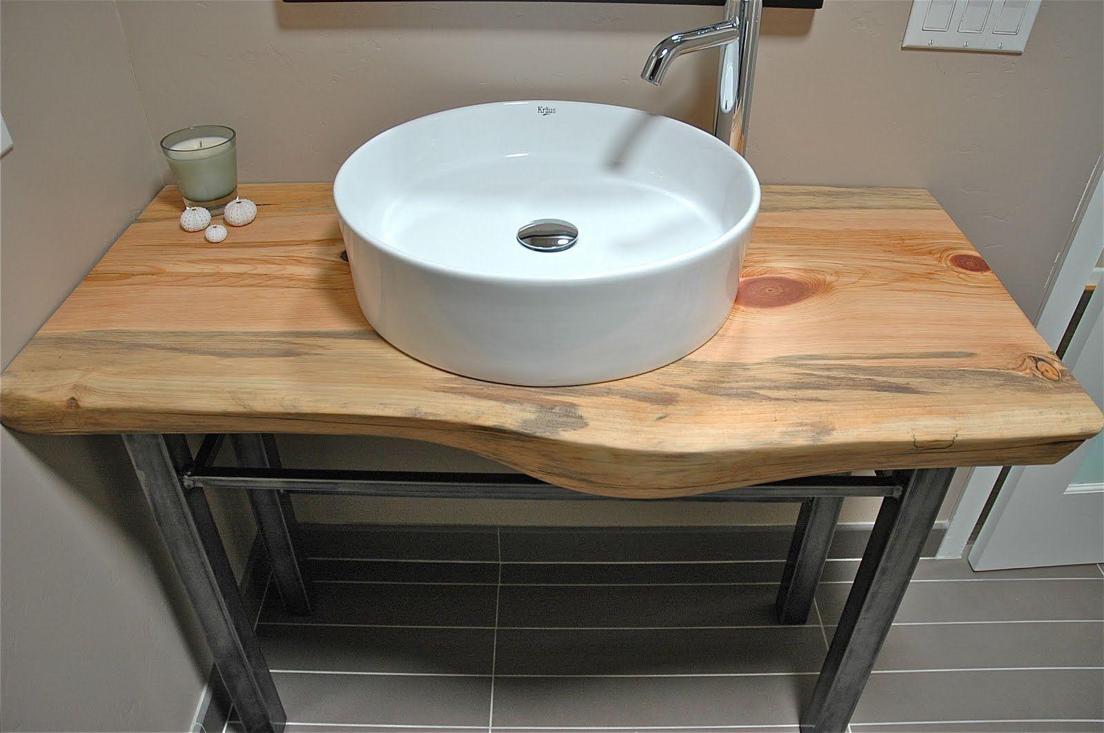 Badezimmer dekor tisch rael wood bathroom vanity  wohnung  pinterest  waschtisch