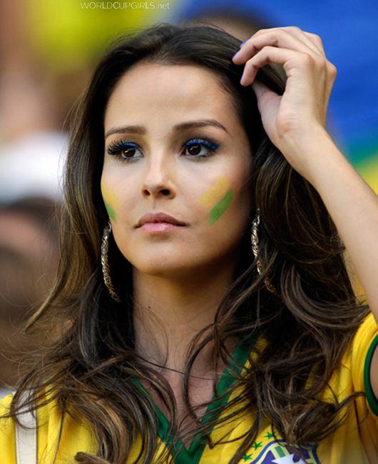 Beautiful Brazilian Girl  Brazilian Girls, World Cup -6737