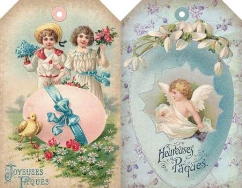 12 hang gift tags scrapbook vintage easter images 929 a easter 12 hang gift tags scrapbook vintage easter images negle Choice Image