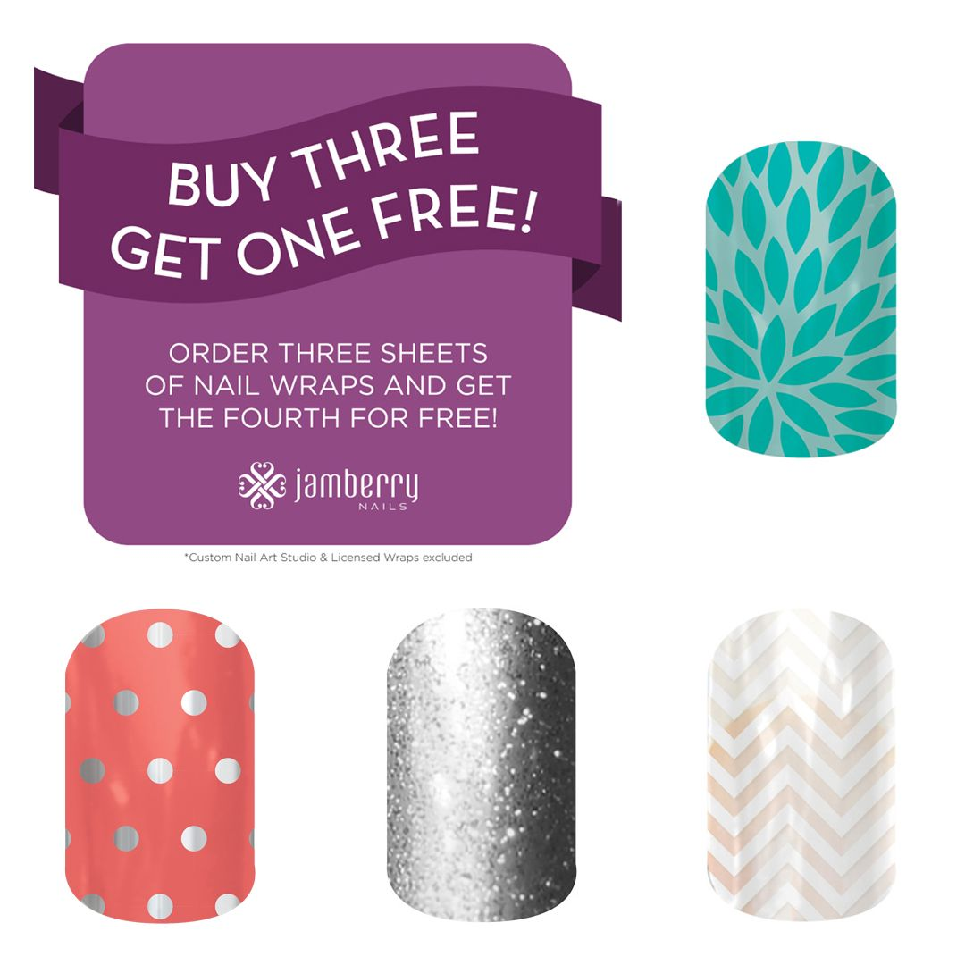 Jamberry Nail Wraps Are Buy  Get  Free Plus Get A Free Sample