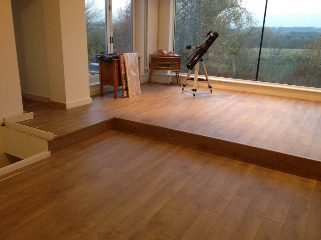 floor : wooden laminate flooring in living room design with glass