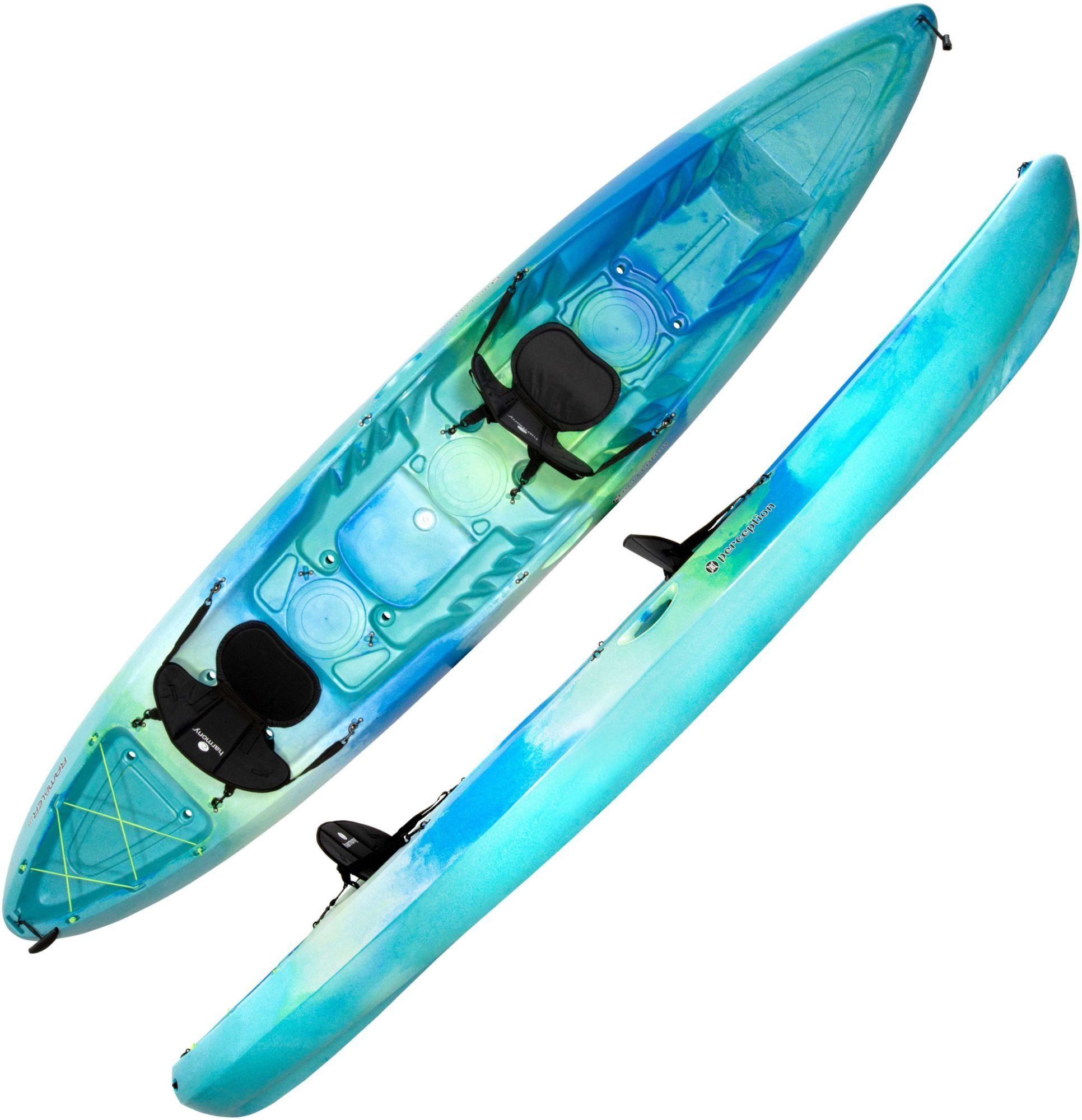 Perception Rambler 13 5 Tandem Kayak Blue In 2020 Tandem Kayaking Kayaking Kayaks For Sale