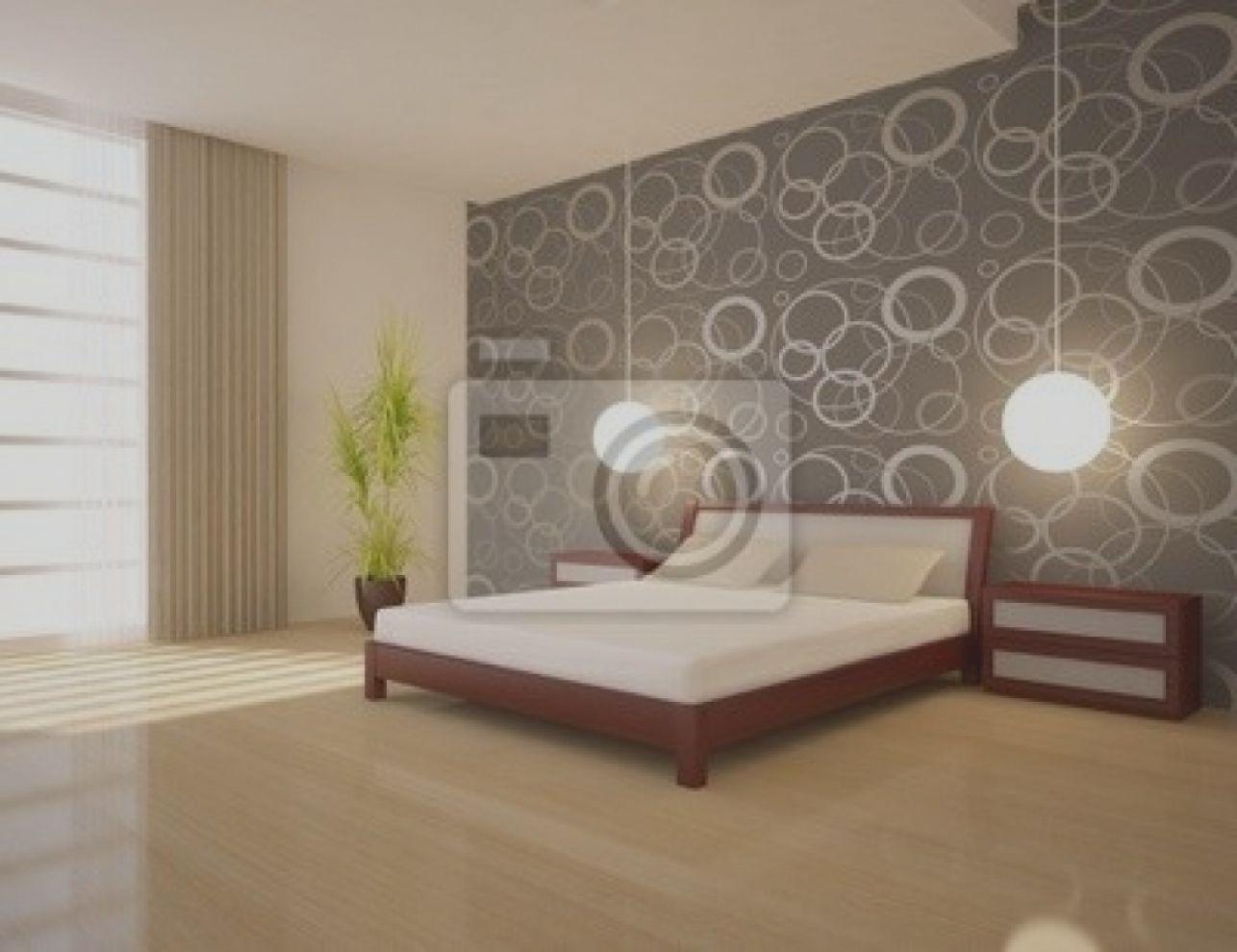 Wunderbar Moderne Tapete Für Schlafzimmer