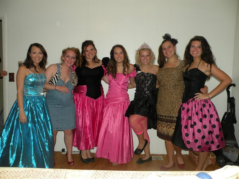 Tacky Prom Party Go To Goodwill Buy Your Desired Dress Then Go