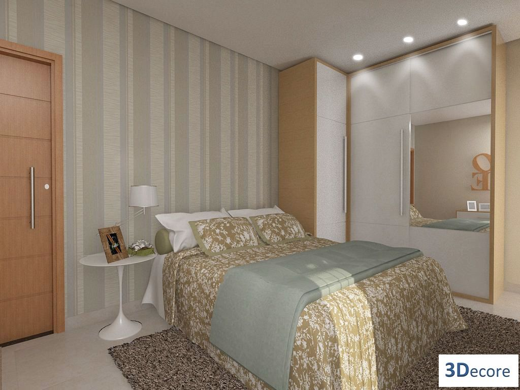 Quartos Pequenos Casa Pro Quarto De Casal Pinterest  ~ Parede De Tijolinho No Quarto E Modelos De Quarto Pequeno